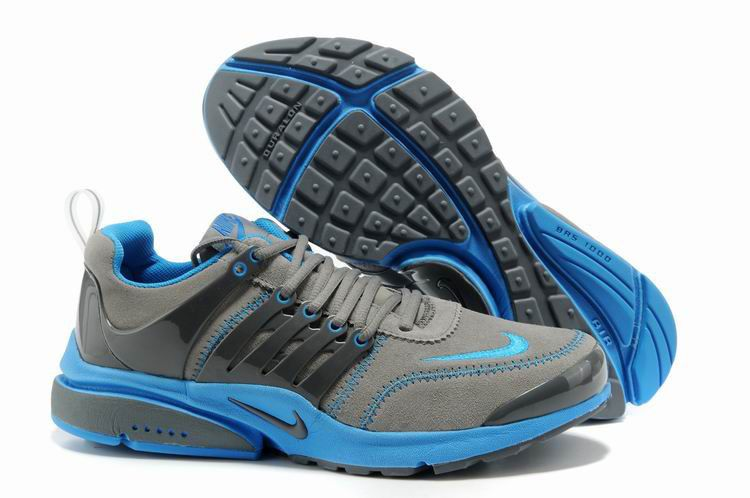 separation shoes 3136e 35237 Nike Air Presto Grey Royal Blue Women s Shoes