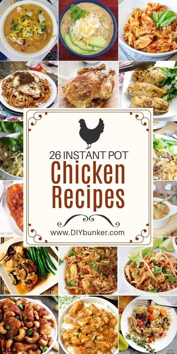 Instant Pot Chicken Recipes To Make For Dinner Tonight Instant Pot Dinner Recipes Chicken