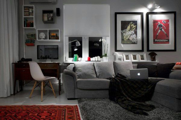 Merveilleux The Ideal Bachelor Apartment   Adorable Home. Find This Pin And More On  Home Décor ...