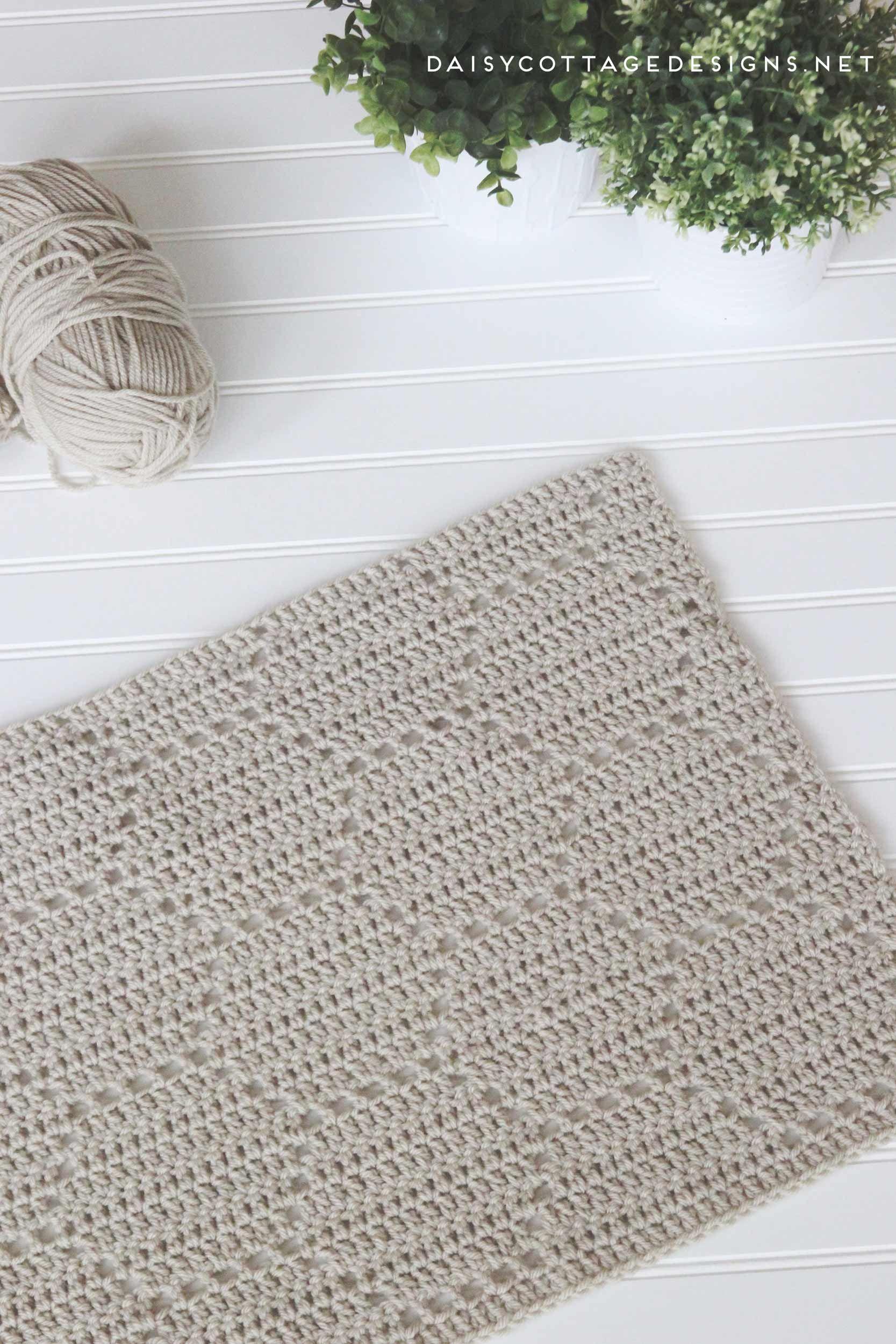 Utilice este patrón de ganchillo de filete para crear una hermosa ...