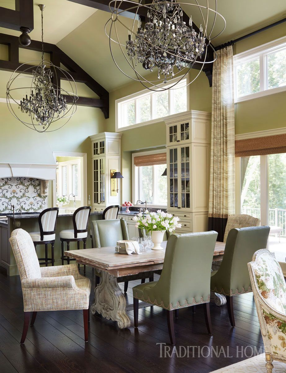 Stylish Family Home In Detroit Traditional Home Magazine