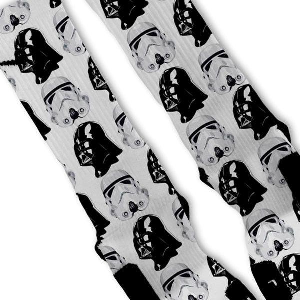 0dde739b0fdc Star Wars Dark Side Custom Nike Elite Socks in 2018