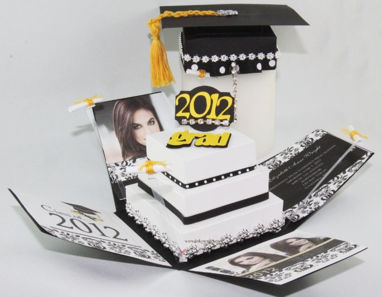 Gallery Jinkys Crafts Graduation Announcements Graduation Cards Custom Invitations