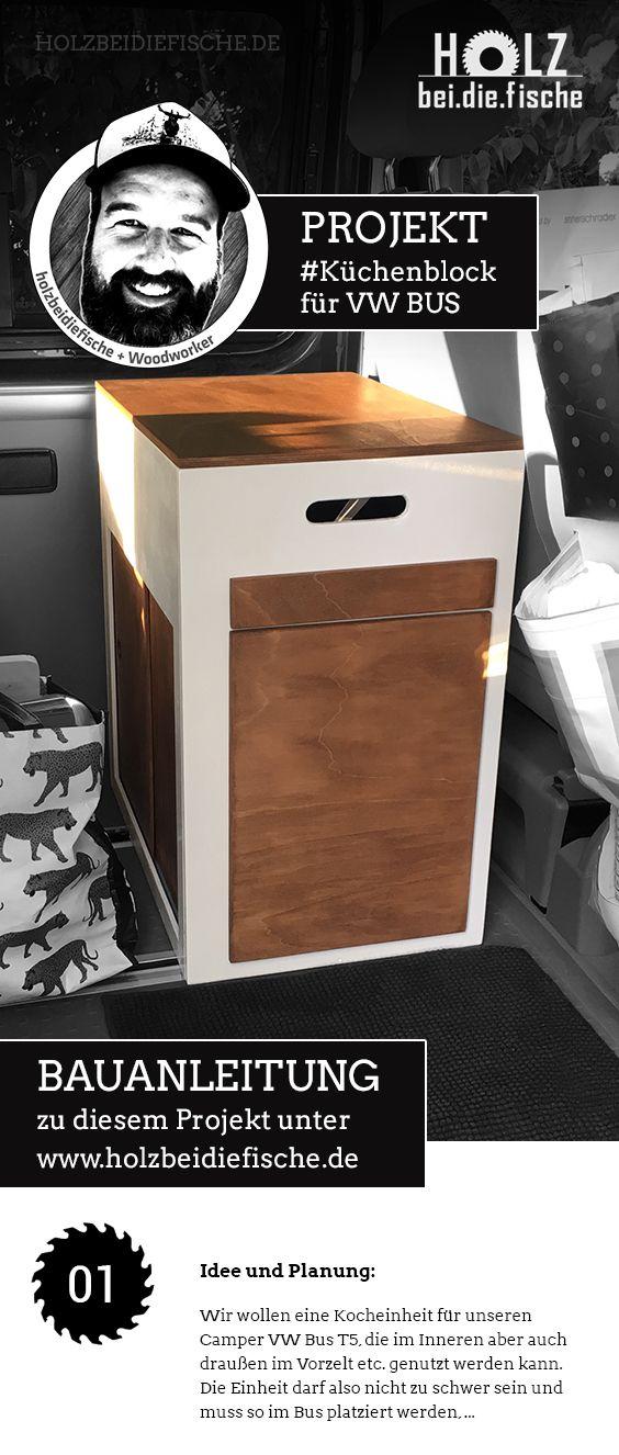 Projekt Mobiler Kuchenblock Schrank Fur Camper Vw Bus Von