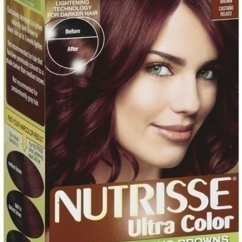 Nutrisse Haircolor, B2 Reddish Brown Roasted Coffee by Garnier  beleza  Hair Color, Reddish