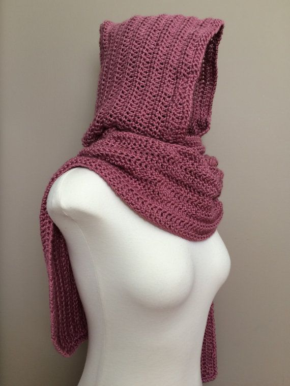 Crochet Hooded Scarf Pattern - Riding Mountain Hooded Scarf ...