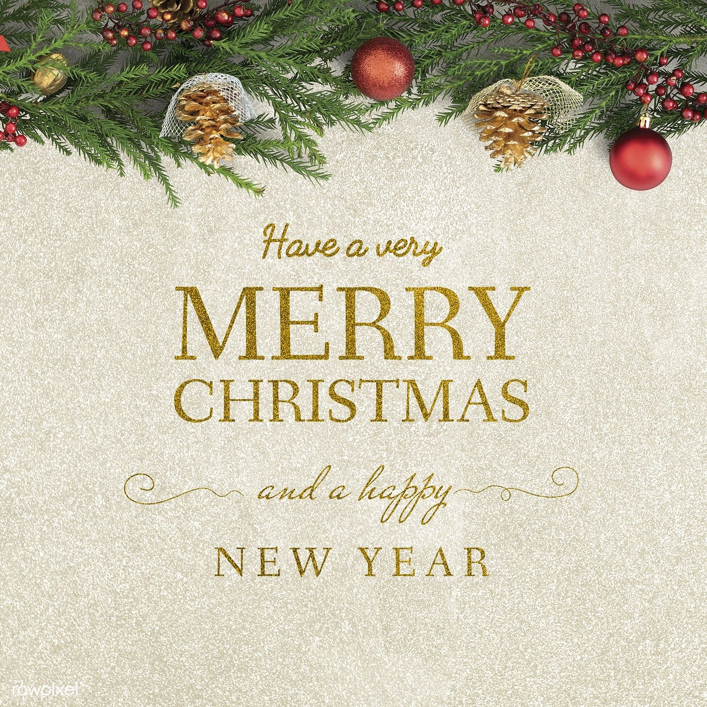 Download premium image of Merry Christmas and Happy New