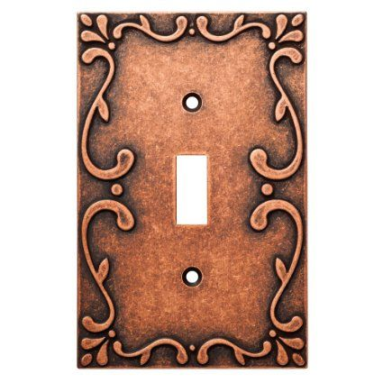Franklin Brass W35070-CPS-C Classic Lace Single Switch Wall Plate ...