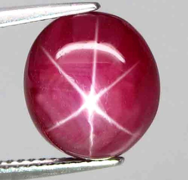 Natural Star Ruby Gemstone Star Ruby Cabochon Ring Size Star Ruby Loose Star Ruby Cabs Jewelry Gemstone Star Ruby Stone For Jewelry Making