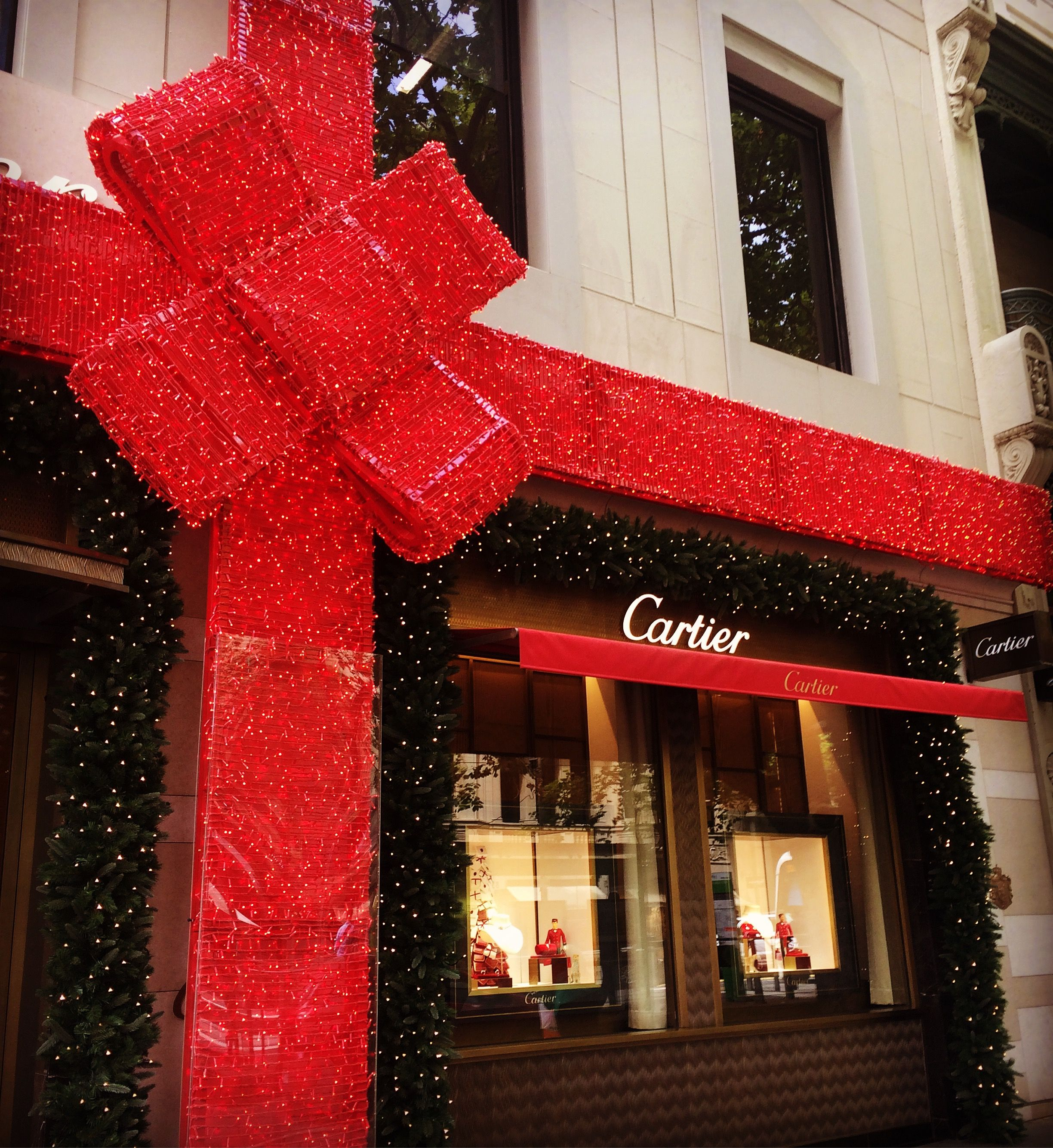 Cartier's Collins Street Melbourne 2018 Holiday specials
