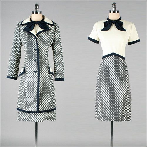 Dress and Jacket Ensemble, ca. 1960s Lilli Ann