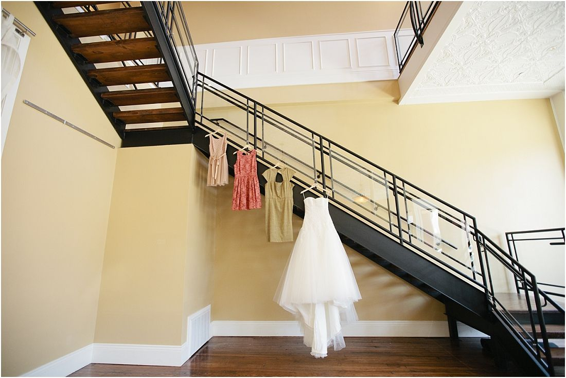 What a unique and cute way to display your wedding dress and what a unique and cute way to display your wedding dress and bridesmaids dresses so cute veridian events wedding venue downtown springfield mo from ombrellifo Image collections