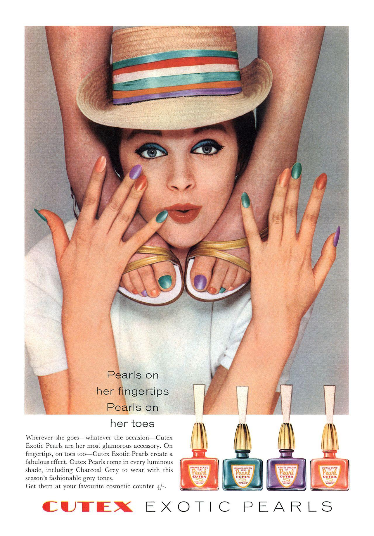 Cutex Nail Polish 1960 Vintage Fashion And Beauty
