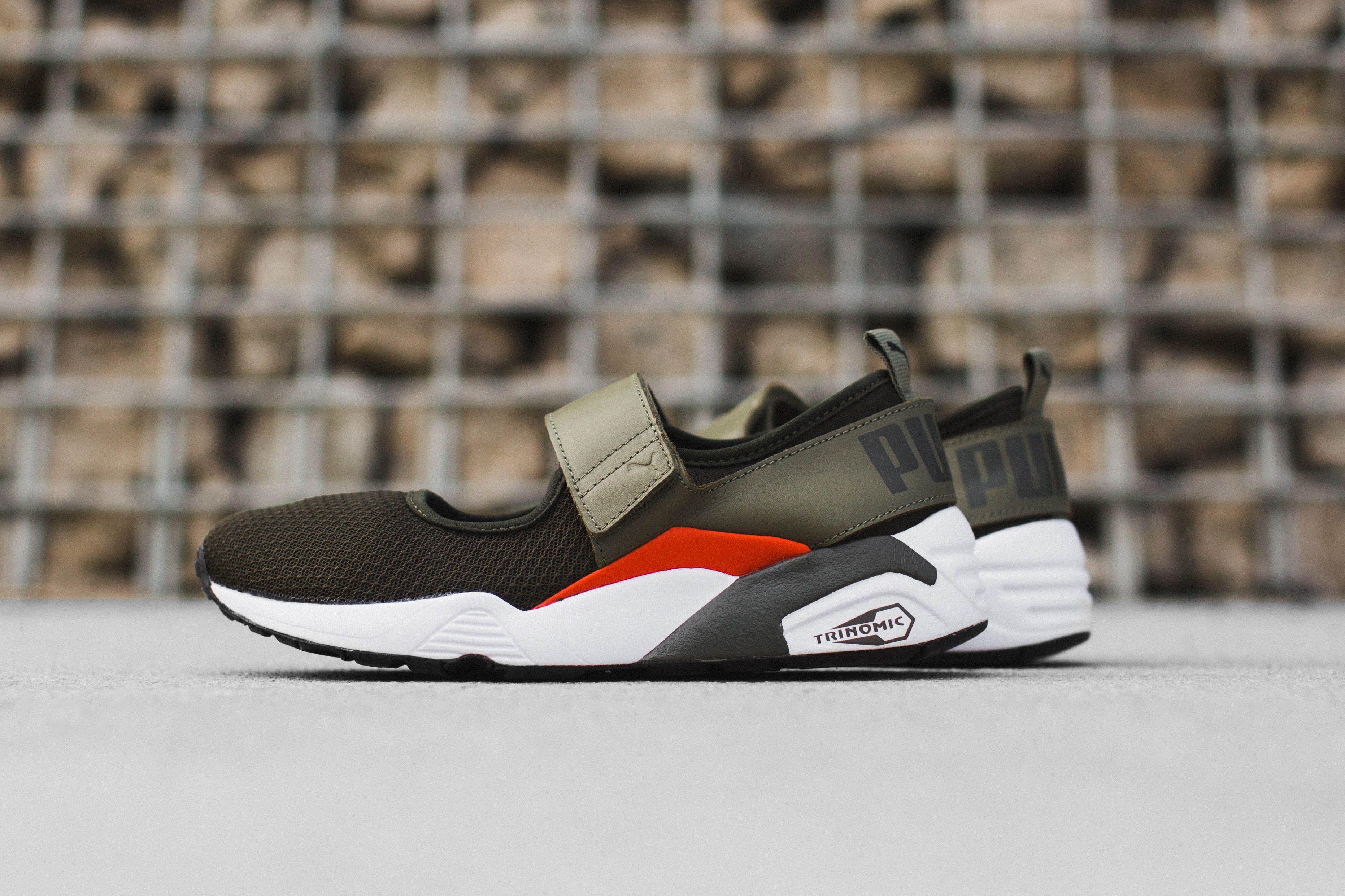 女生獨佔-PUMA 全新 Trinomic Open Sneaker 忍者鞋參見. Nike Air RiftPress ...