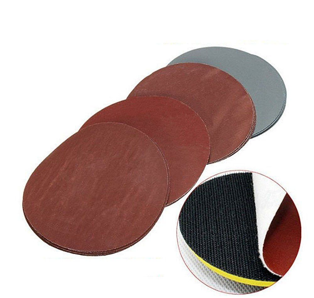 Assorted Sandpaper Disc Hook And Loop 5 Inch 1k 3k Grit Polish Grinding Set Hown Store In 2020 Sandpaper Grind Assorted