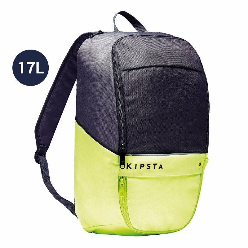 12f8f62ee0 £4.99 - 27 - Football - Classic 17L Backpack - Black - KIPSTA