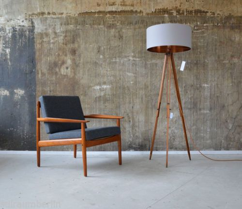 1-3-60er-arne-vodder-teak-sessel-glostrup-60s-easy-chair-danish ... Danish Design Wohnzimmer