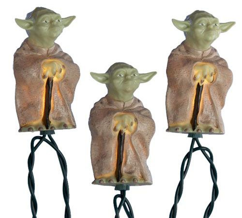 Star Wars Yoda Christmas Lights Things I Like Pinterest Star