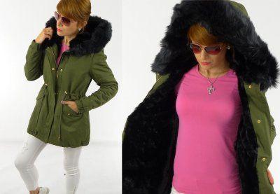 Luksusowa Modna Kurtka Parka Khaki Futerko Dl M 6446177441 Oficjalne Archiwum Allegro Fashion Parka Style Inspiration