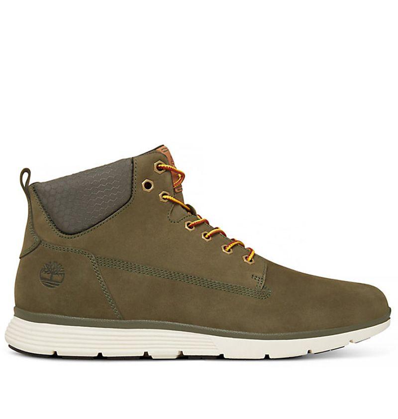 chaussure homme timberland vert