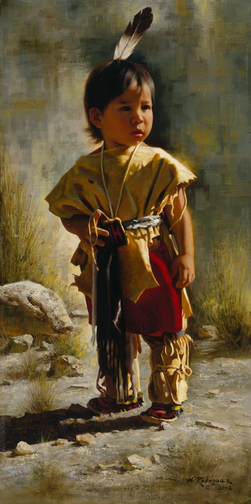Super His First Feather by Alfredo Rodriguez | Art: The West | Pinterest  VW39