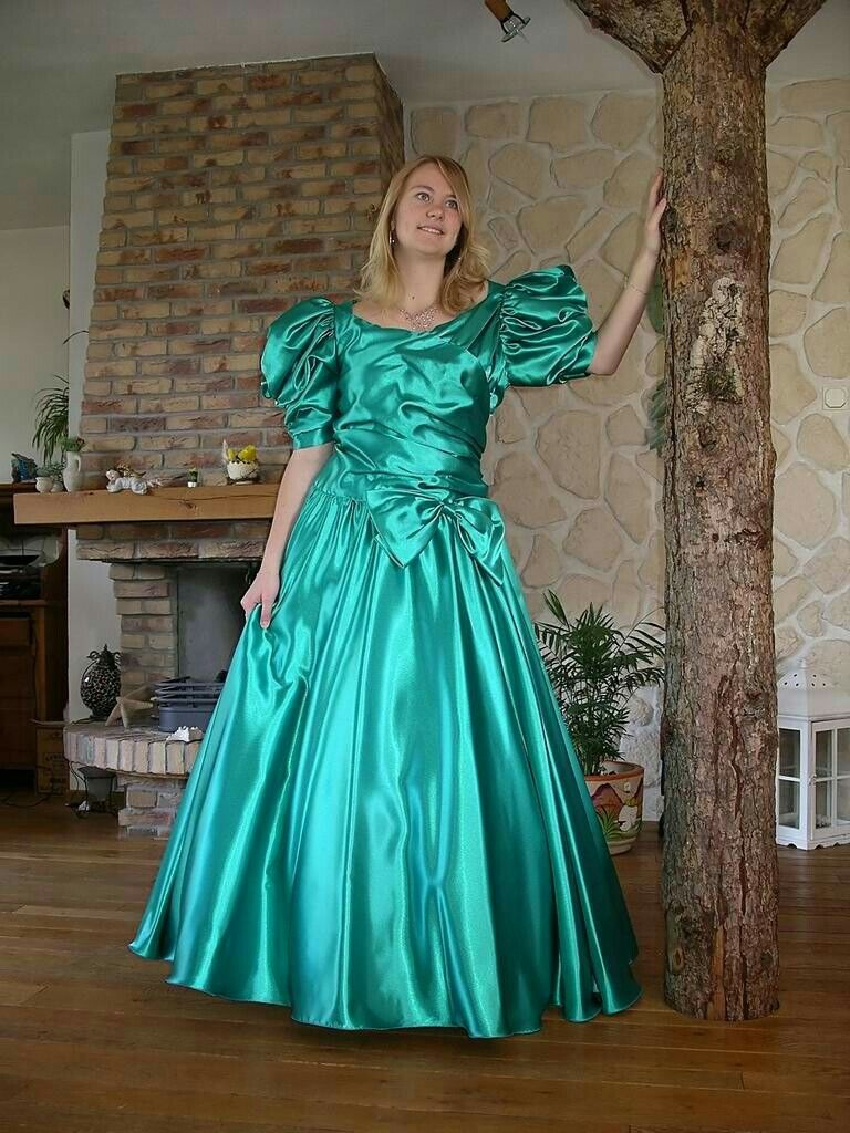 Pin by Tall Paul on Liquid Satin Dresses/Gowns. | Pinterest | Satin ...