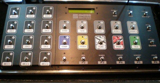 john petrucci midi foot controller   Design - Sound