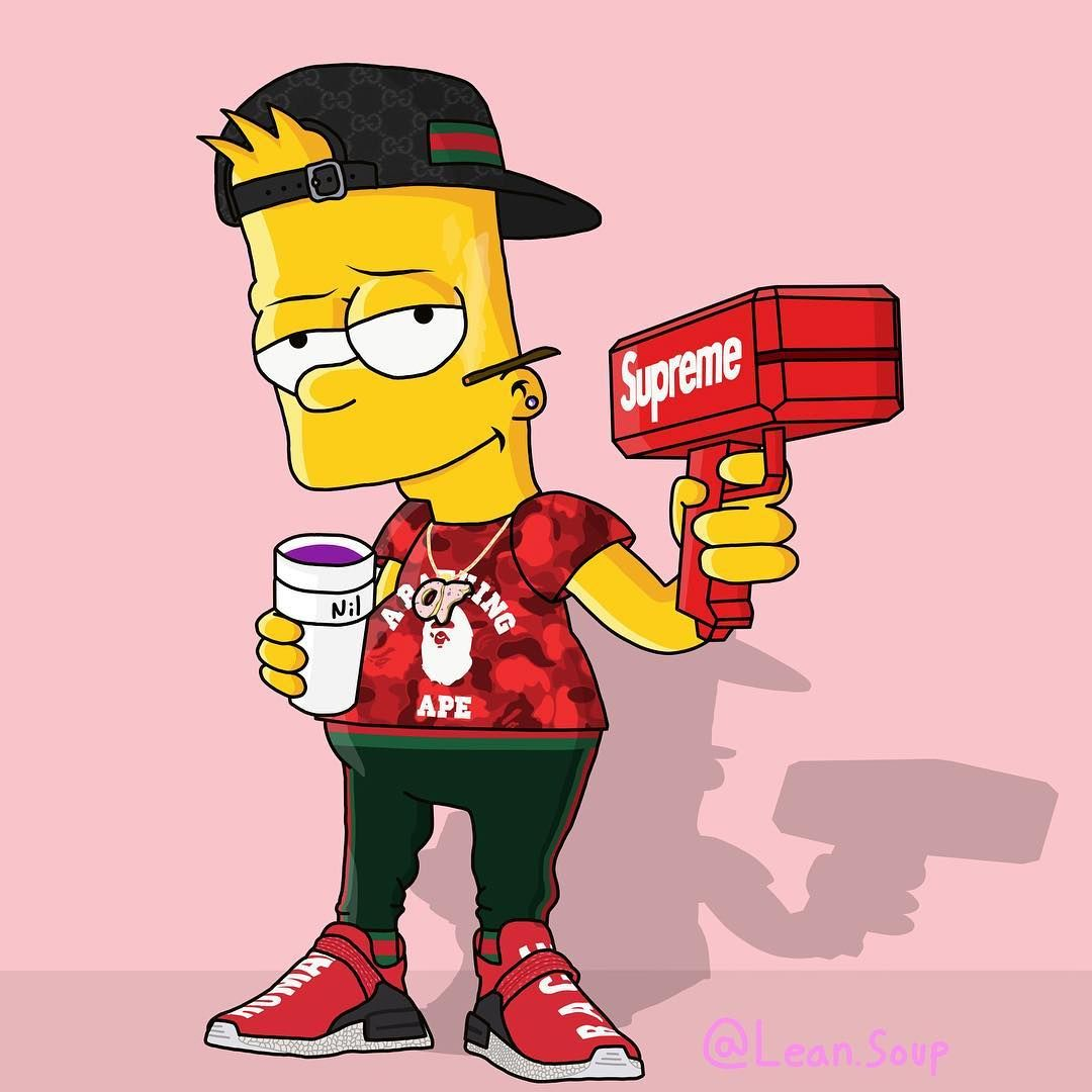 Pin De Barnesanthony Em Lit Art Arte Simpsons Papel De Parede Supreme Papeis De Parede Hd Celular