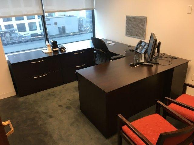 Used Office Desks   Kimball Desk Sets   Used Business Furniture