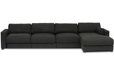 Chapman Extra Spacious L Shaped Sofa With Right Side Lounger Colour By Furny Sectional Sofa Sofa Set Online Corner Sofa Set