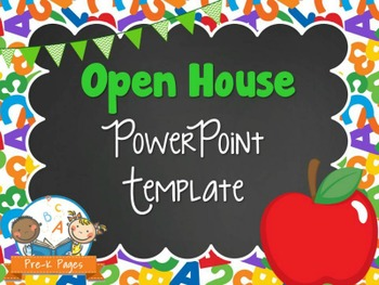 school theme open house powerpoint | school themes, open house and, Powerpoint templates