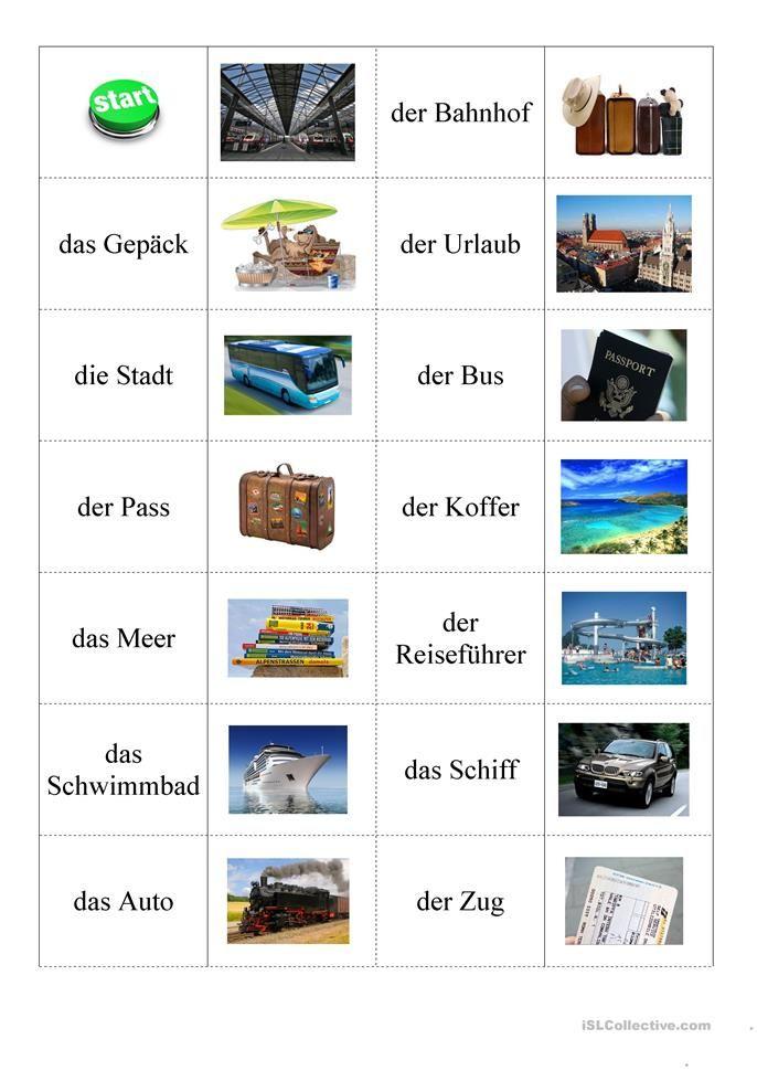 reise sprache deutsch lernen deutsch artikel und deutsch. Black Bedroom Furniture Sets. Home Design Ideas