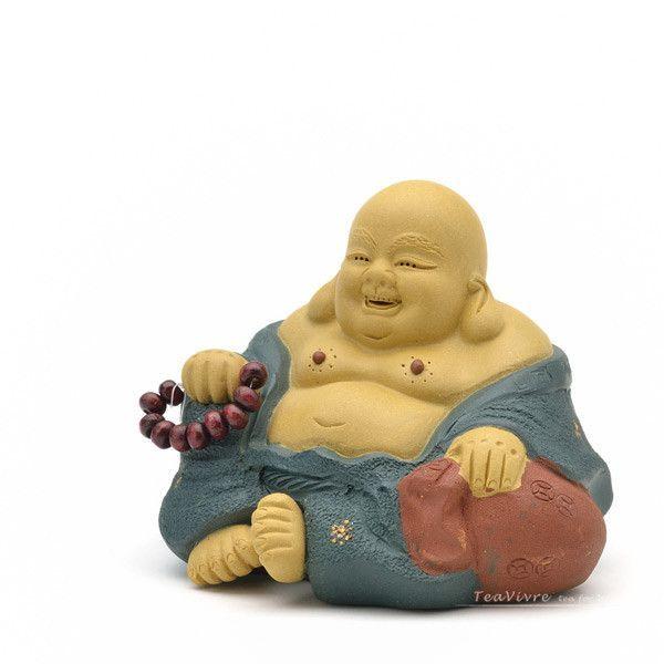 Laughing Maitreya Buddha Yixing Tea Pet