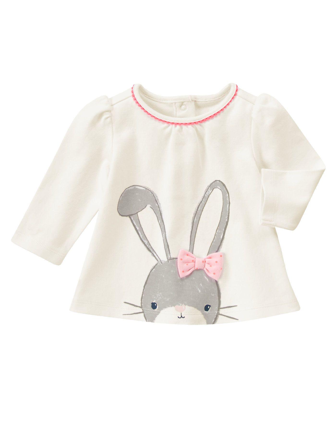 54d203170 Bunny Top at Gymboree Vestidos De Nenas, Ropa De Chicas, Pijamas Para Niñas,