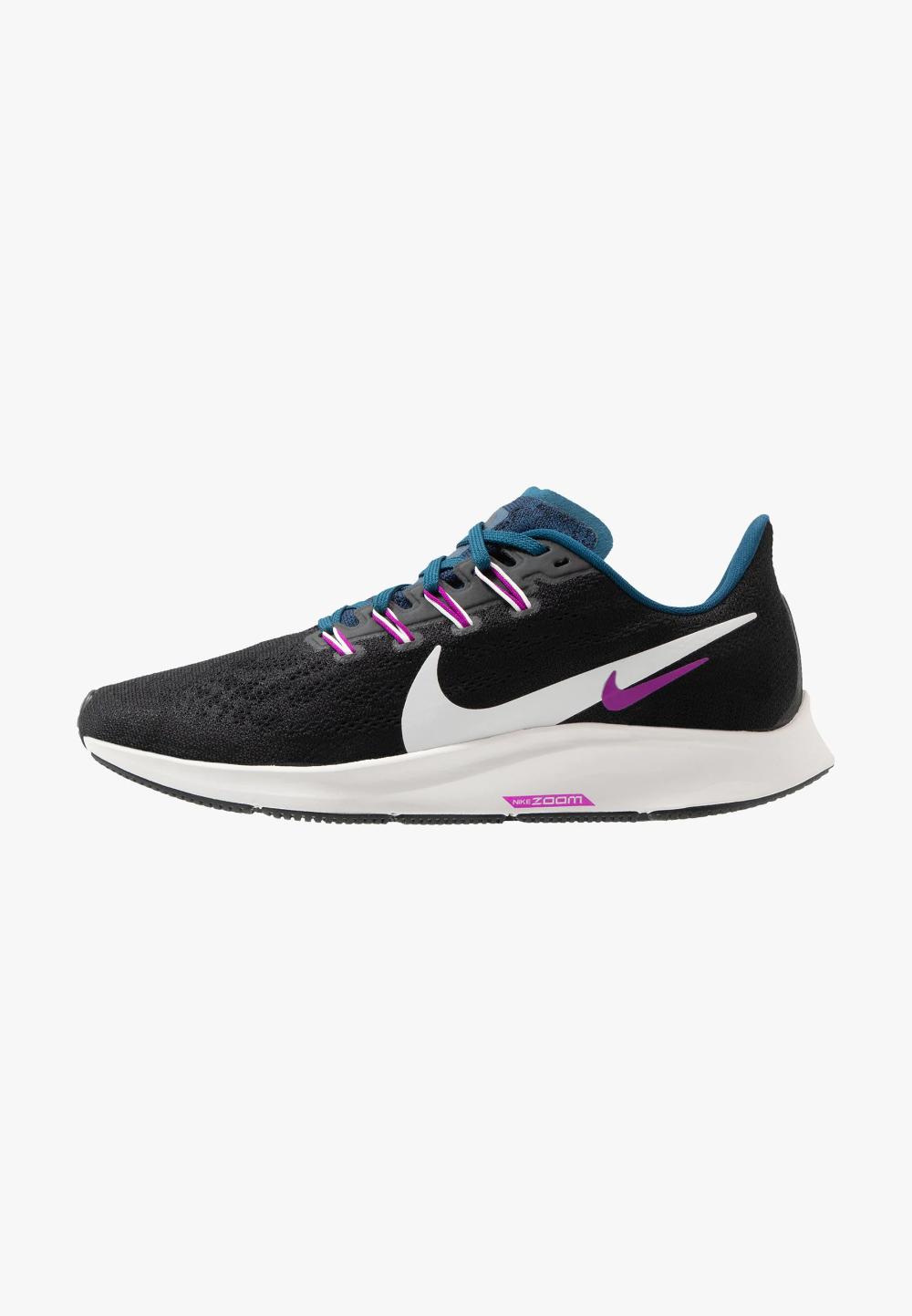 Nike Performance Air Zoom Pegasus 36 Obuwie Do Biegania Stabilnosc Black Summit White Valerian Blue Vivid Purple Czarny Zalando Pl Fitness Fashion Sneakers Nike Sneakers