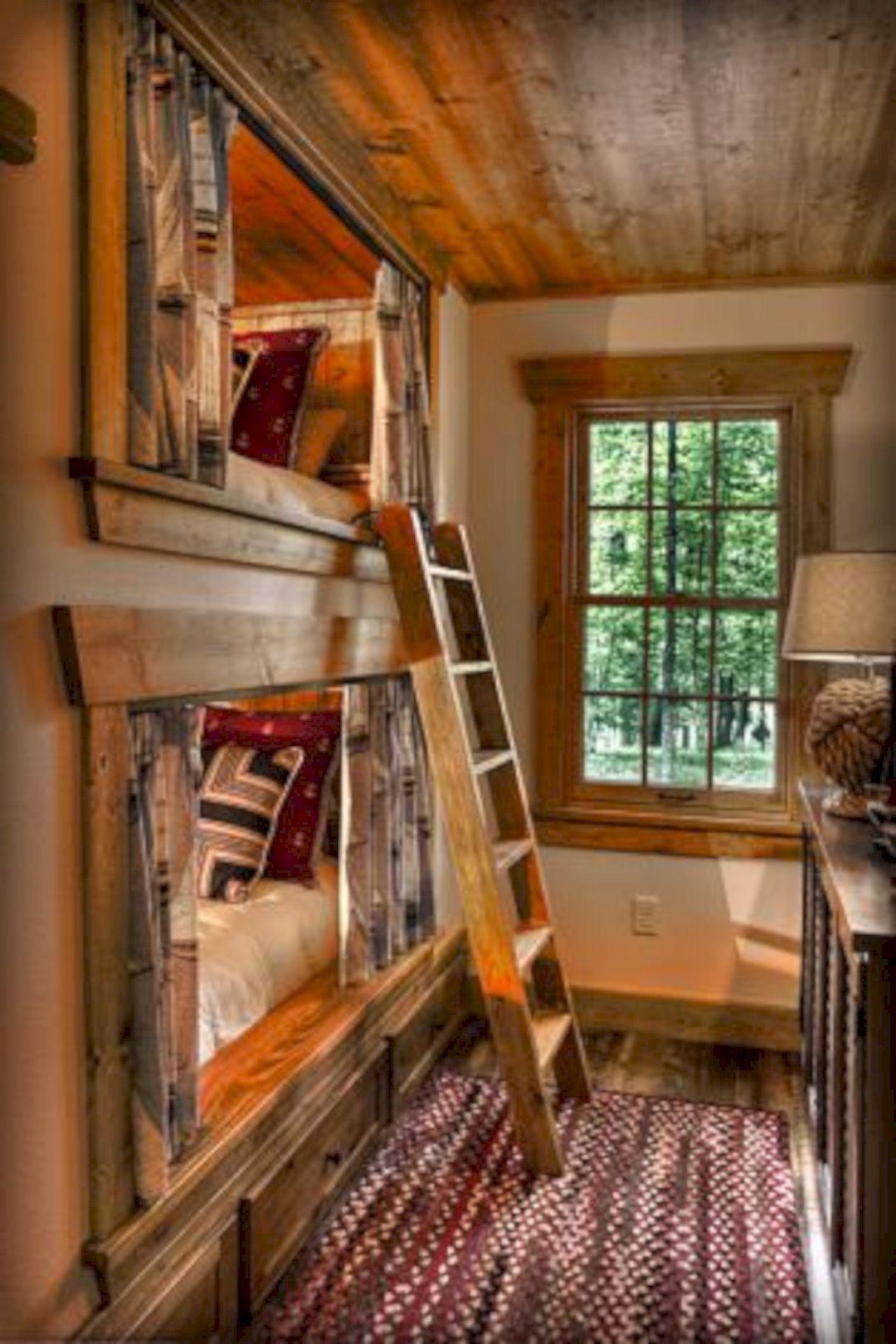 10 Top Kids Bunk Bed Design Ideas Cabin Bunk Beds Bunk Beds Built In Rustic Bedroom