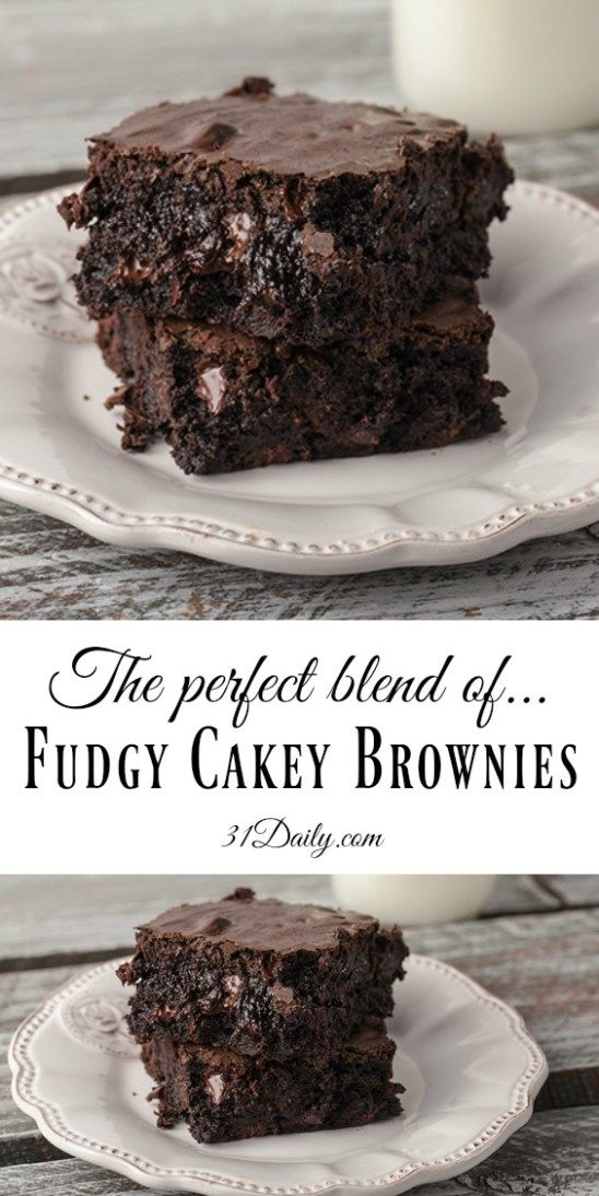 Fudgy Cakey Family Size Decadent Brownies Recipe With Images