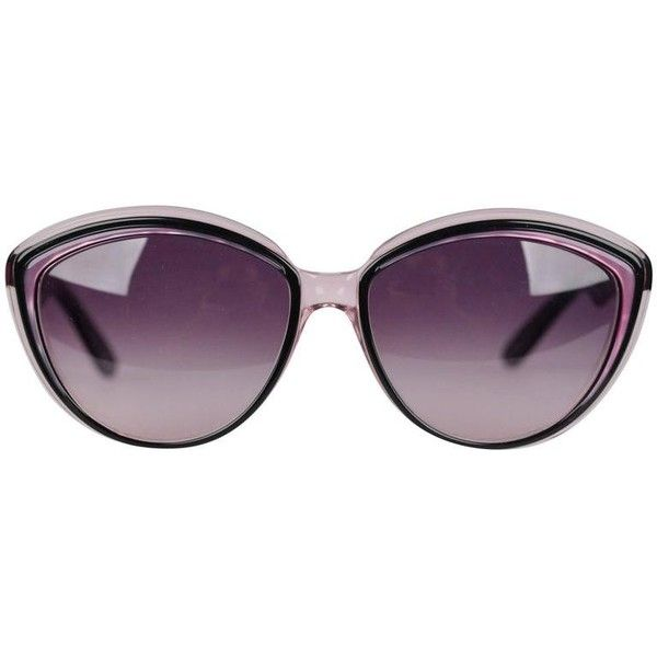 d8ea398f506 Preowned Yves Saint Laurent Vintage Sunglasses Theia 57/15 292 Cat Eye.