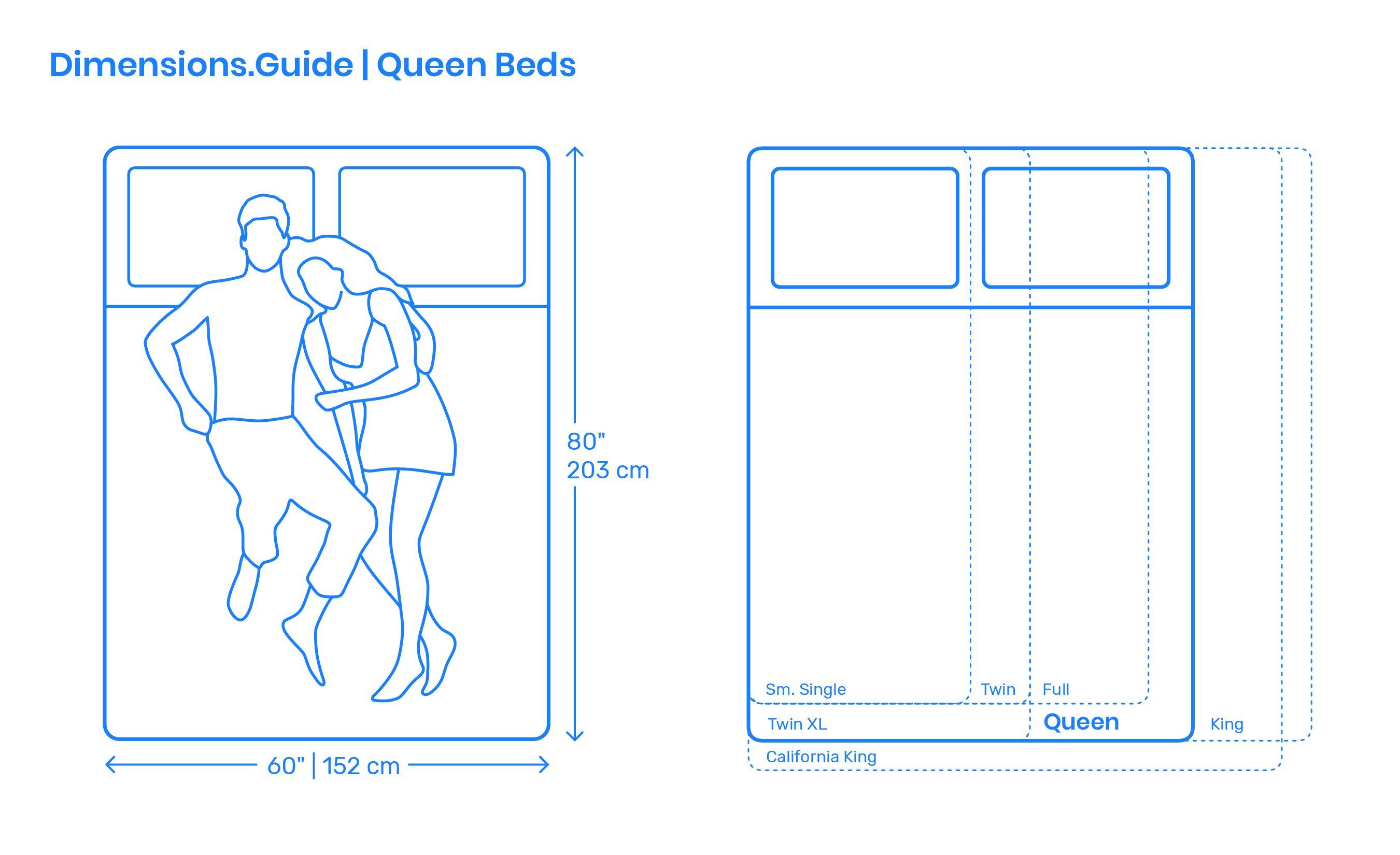 Queen Beds Bedroom Layout Design Bed Sizes Simple Bed