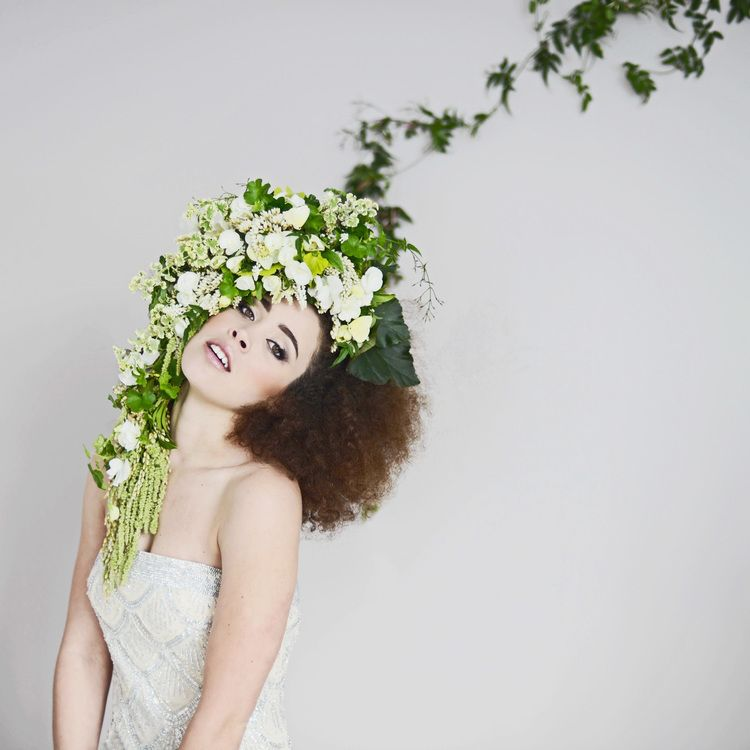 Wearables Floral Headpiece Bloom Where Youre Planted Floral