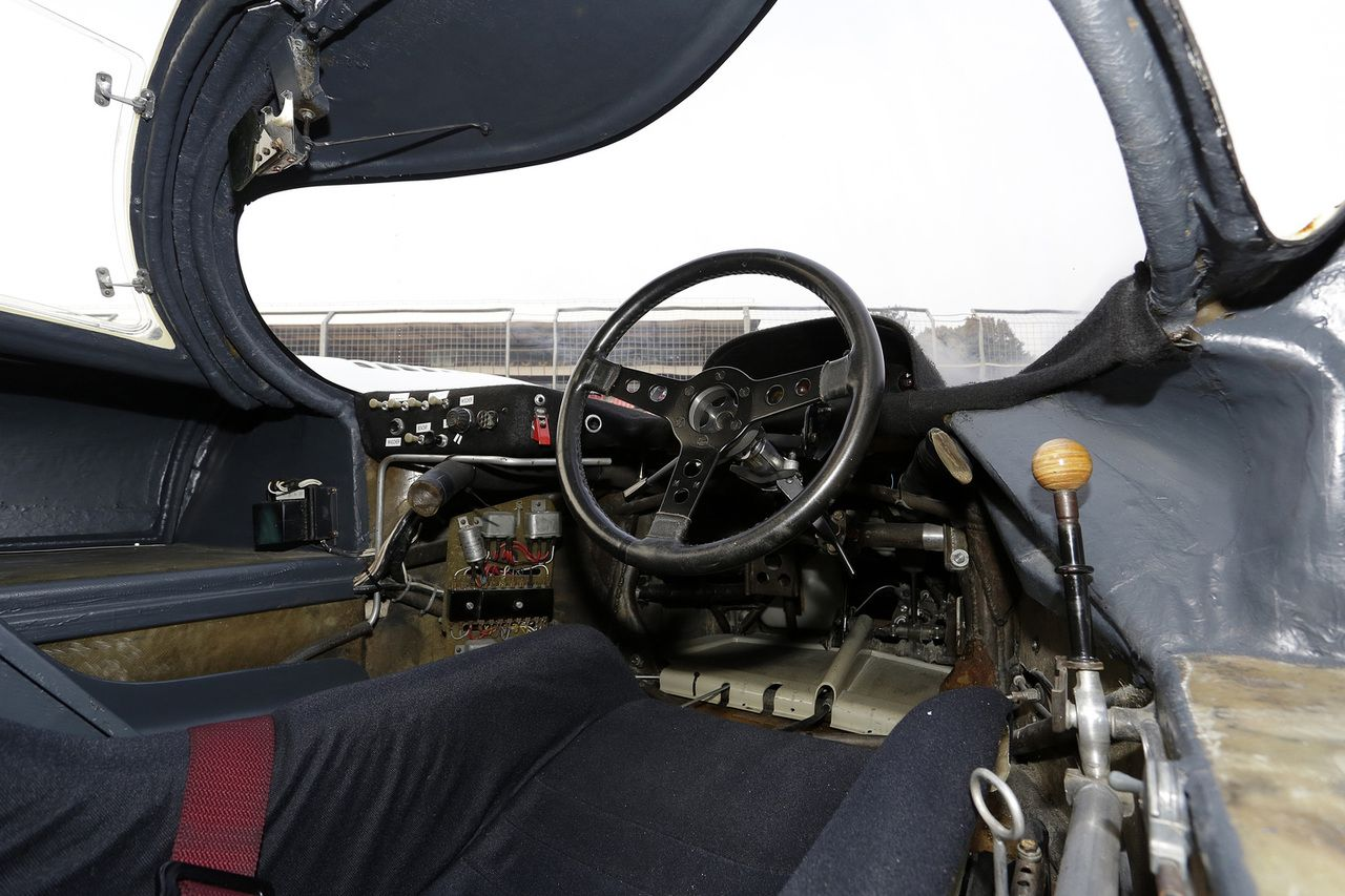 Porsche 917 Interior Note The Gear In Balsa For Weight Reduction