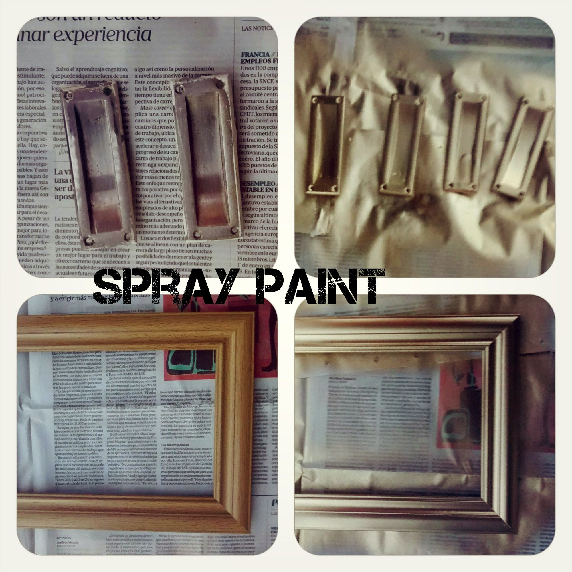 Pintura en spray / spray paint for metal. Luxury !