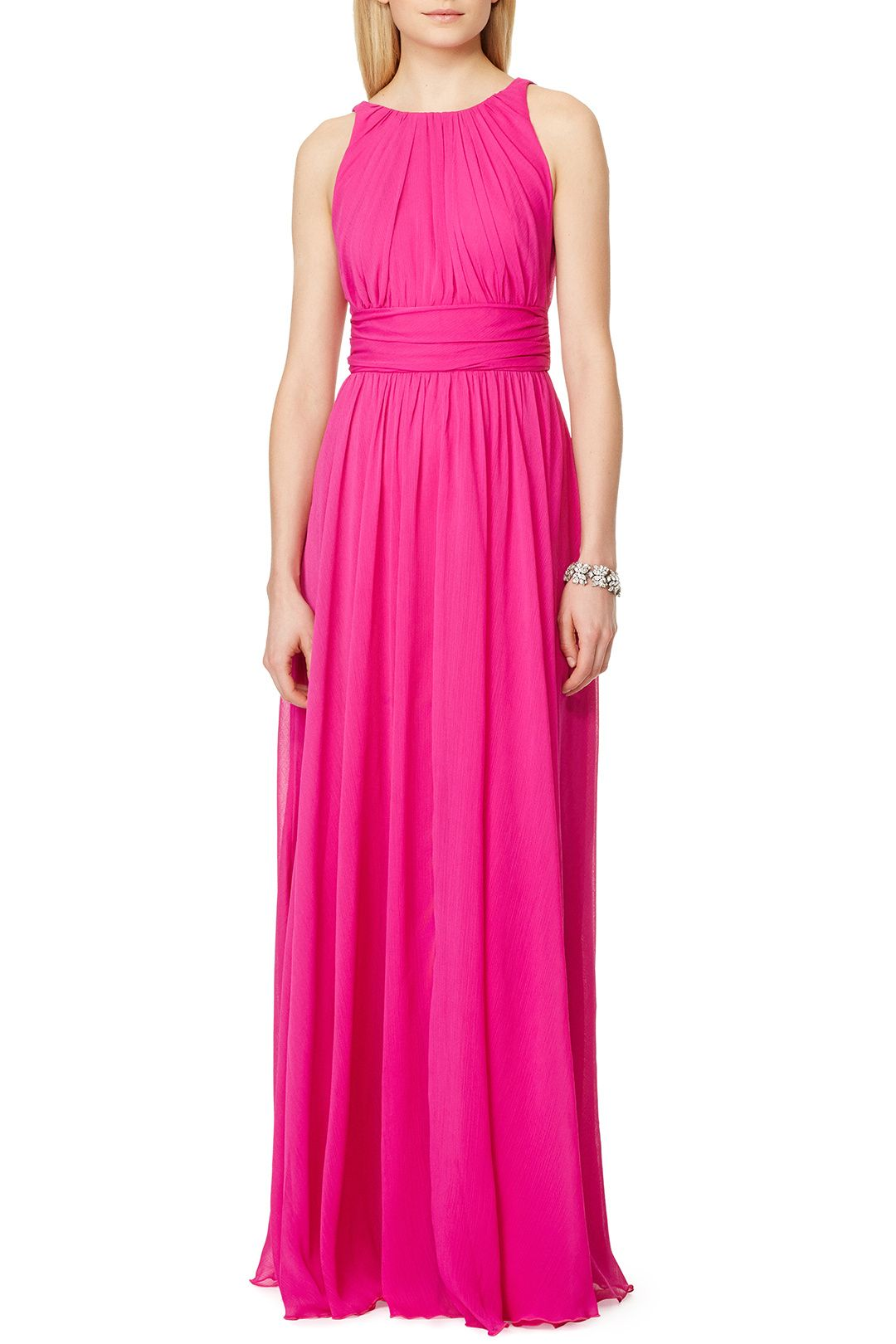 Rent Corundum Tourmaline Gown by Badgley Mischka for $70 only at ...