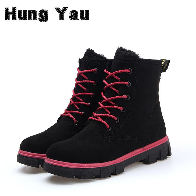 Moda Calientes de la Nieve Botas calzado mujer Botas de Invierno Las Mujeres  sapato feminino Botas