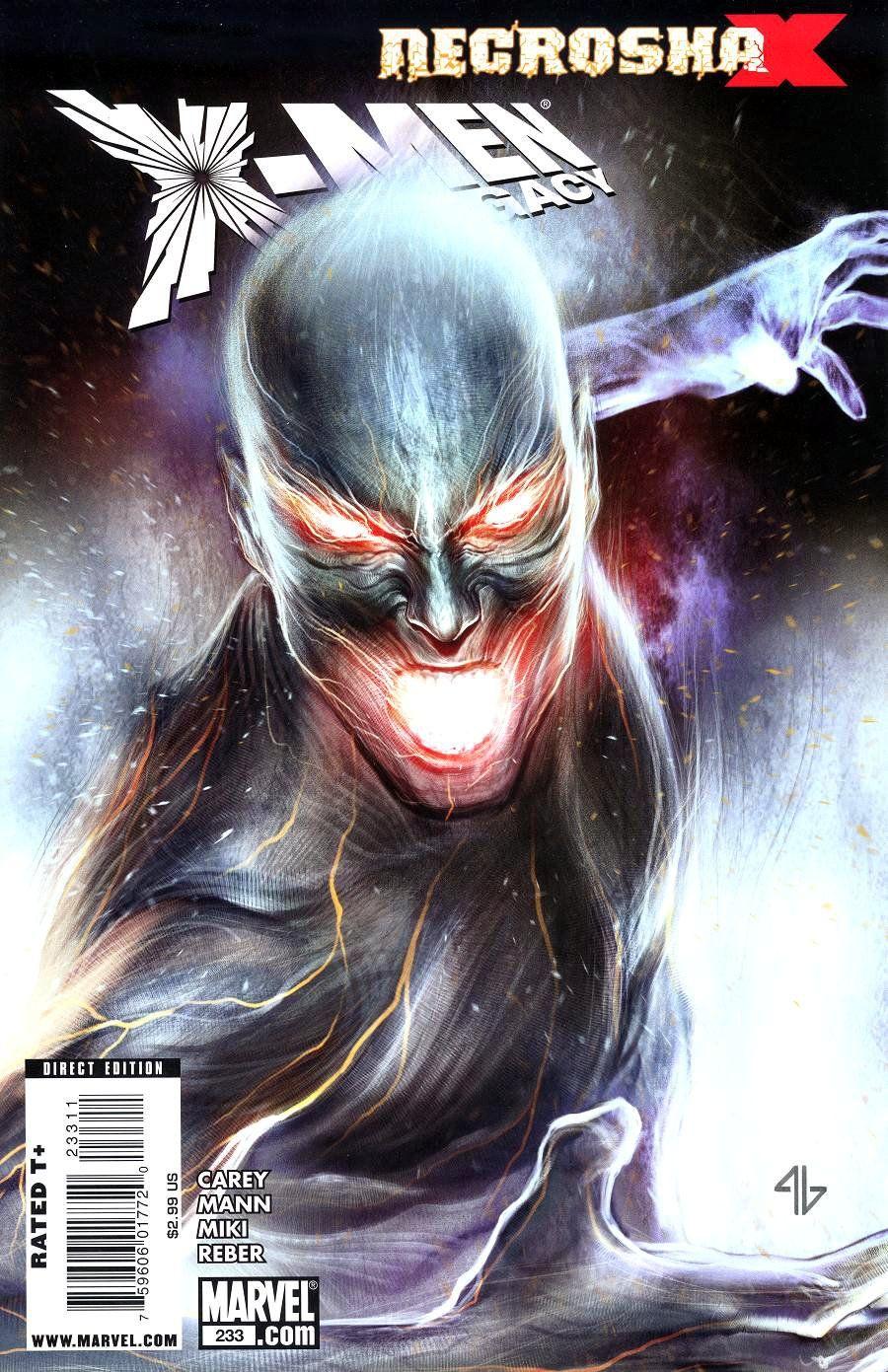 X Men Legacy Vol 1 233 X Men Marvel Comic Books Marvel
