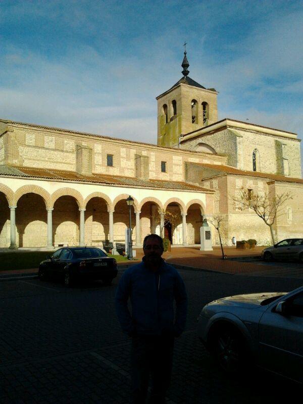 Preciosa la Iglesia de Santa María del Castillo de Olmedo