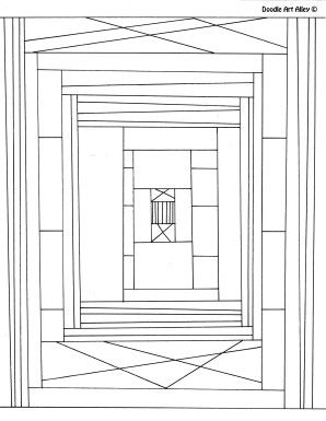 measure area and perimeter coloring page Coloring pages