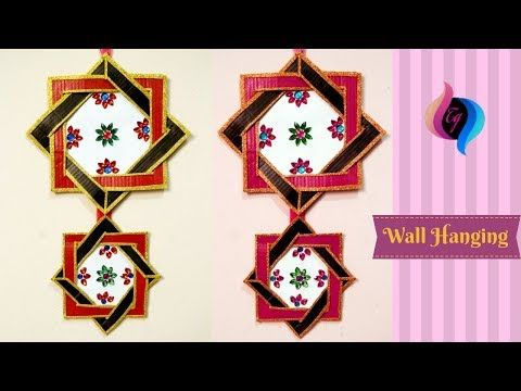 Wall Hanging Ideas With Cardboard Craft Ana Home Decor Crafts
