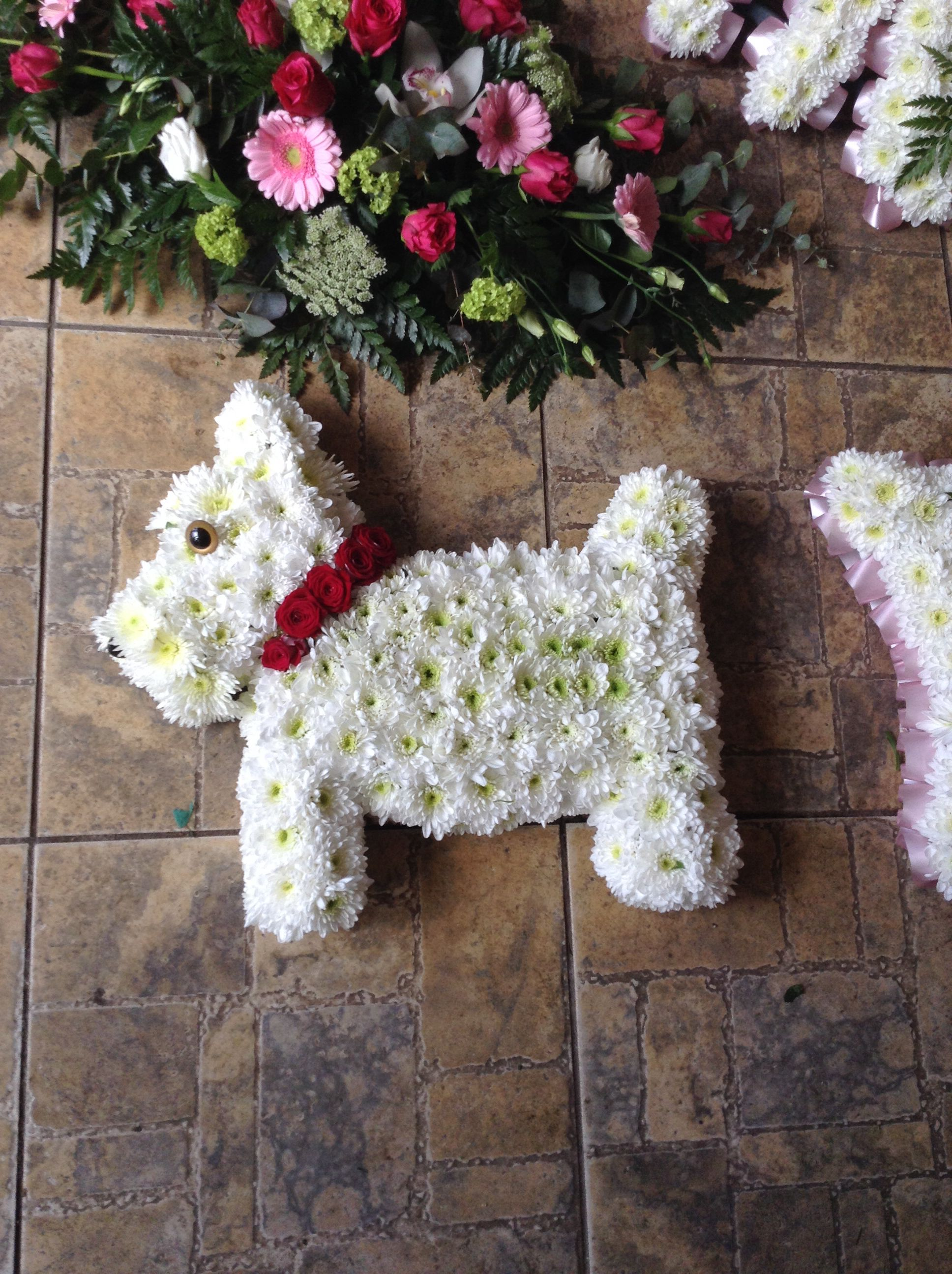 A westie for a dog lover flower girl dudley sympathy a westie for a dog lover flower girl dudley izmirmasajfo