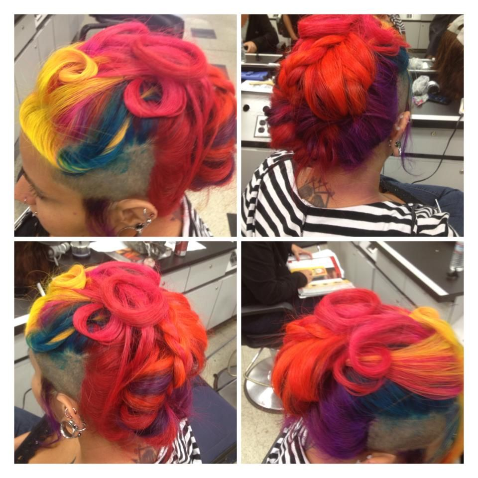 Pin By Splat Haircolor On Multi Colored Hair Splat Hair Color Multi Colored Hair Hair Inspiration